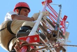 Работы промышленных альпинистов по монтажу и демонтажу металлоконструкций