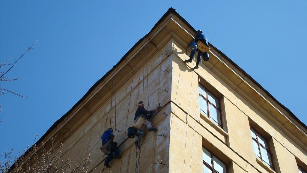шпатлевка фасада